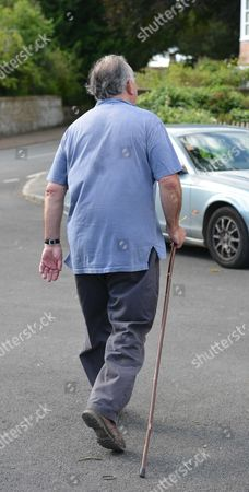 Michael Mates Taking A Stroll Though Compton From His Neighbouring Village of West Marden