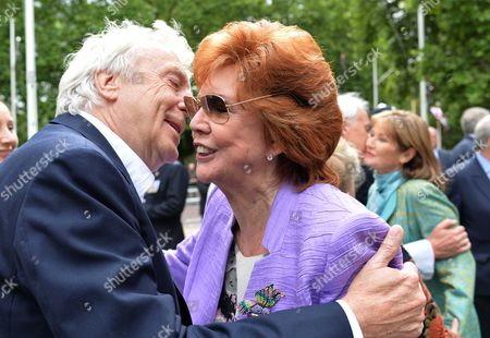 Michael Winner - Memorial Service at the National Police Memorial the Mall London Sir Frank Lowe and Cilla Black