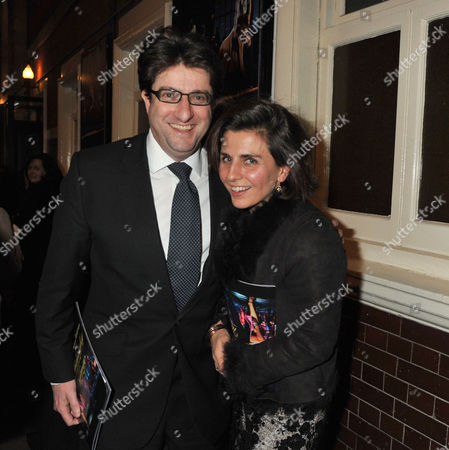 Midnight Tango Press Night at the Aldwych Theatre and After Party at Jewel Maiden Lane Convent Garden London Andrew Simon Feldman Baron Feldman of Elstree and His Wife Gabrielle Gourgey