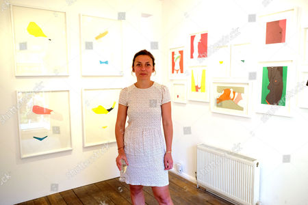 Stock Picture of Natasha Law Private View of Put It On Paper at 11 Ecclestone Street Victoria London at 11 Ecclestone Street Victoria London Natasha Law