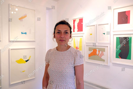 Editorial picture of Natasha Law Private View of Put It On Paper,