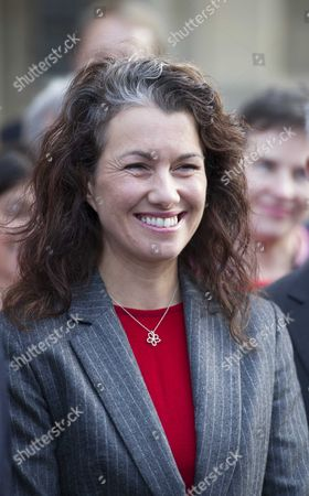 Sarah Champion Labour's New Mp Arrive at the House of Commons Following Her By-election Victories Last Week Meet by Fellow Mp's and the Leader of the Labour Party Ed Miliband Mp