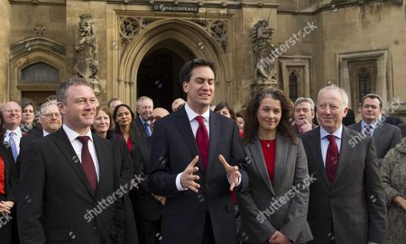 New Labour Mps Arrive at House of Commons Steve Reed Sarah Champion and Andy Mcdonald Labour's New Mps Arrive at the House of Commons Following Their By-election Victories Last Week Meet by Fellow Mp's and the Leader of the Labour Party Ed Miliband Mp