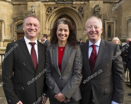 New Labour Mps Arrive at House of Commons Steve Reed Sarah Champion and Andy Mcdonald Labour's New Mps Arrive at the House of Commons Following Their By-election Victories Last Week