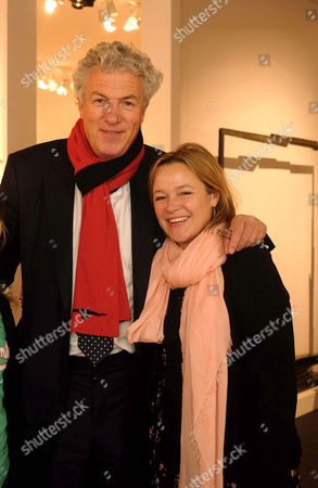 Pad London Art and Design Fair Private View Berkeley Square Gardens London Henry Wyndham with Guest