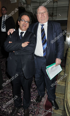 Macmillan Cancer Support Parliamentary Palace of Varieties at the Ballroom of the Park Lane Hotel Piccadilly London Lord Glasman & Eric Pickles Mp
