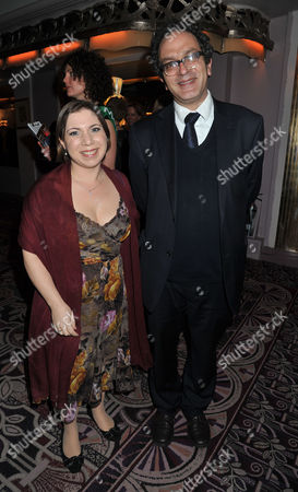 Stock Image of Macmillan Cancer Support Parliamentary Palace of Varieties at the Ballroom of the Park Lane Hotel Piccadilly London Sarah Teather Mp & Lord Glasman