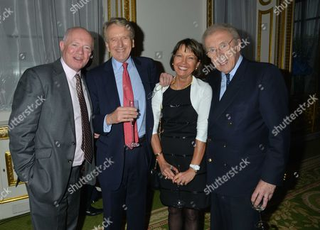 Pelham Bell Pottinger Summer Party at Lancaster House St James London Howell James Sir Christopher Meyer with His Wife Lady Catherine Meyer & Sir David Frost