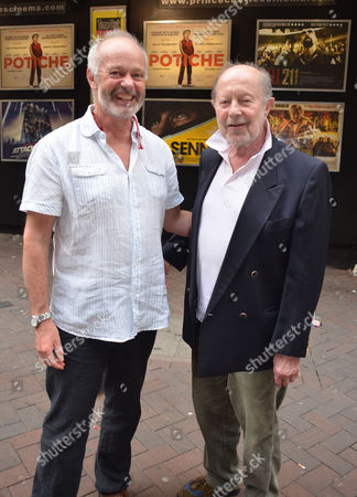 Premiere of A New Play 'Burnt Oak' at the Leicester Square Theatre Leicester Square London Michael Radford and Nicolas Roeg