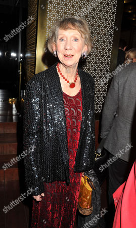 Press Night Curtain Call For the Ladykillers at the Gielgud Theatre Shaftsbury Ave and After Party at the Spice Market W Hotel Leicester Square London Marcia Warren