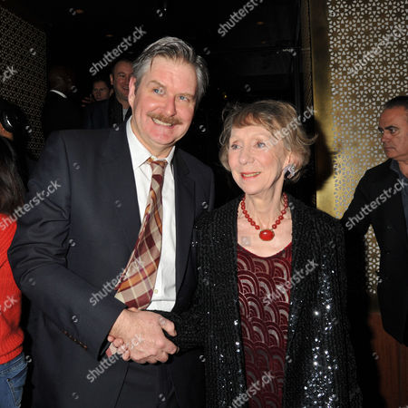 Press Night Curtain Call For the Ladykillers at the Gielgud Theatre Shaftsbury Ave and After Party at the Spice Market W Hotel Leicester Square London James Fleet & Marcia Warren