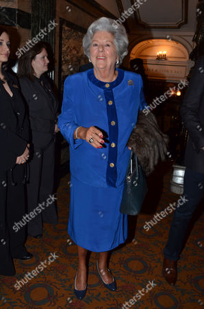 Press Night For Crazy For You at the Novello Theatre Aldwych and After Party at Jewel Maiden Lane Baroness Betty Boothroyd