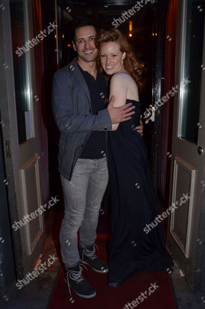 Press Night For Crazy For You at the Novello Theatre Aldwych and After Party at Jewel Maiden Lane Sean Palmer & Clare Foster