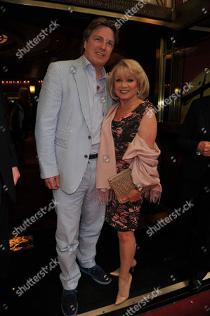 Press Night For Miss Saigon at the Prince Edward Theatre Old Compton Street Soho London Elaine Paige and Justin Mallinson
