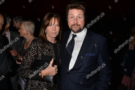 Press Night Curtain Call For Miss Saigon at the Prince Edward Theatre Old Compton Street Soho London & After Party at Somerset House the Strand Michael Ball and Cathy Mcgowan