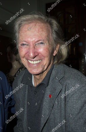 Stock Photo of Press Night For Scrooge at the London Palladium Argyll Street Soho London the After Party Tommy Steele