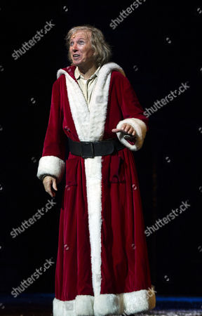 Editorial image of Press Night For Scrooge