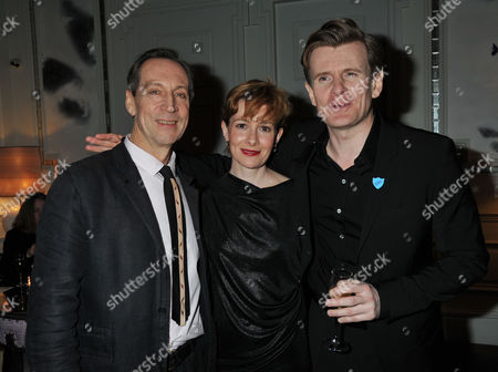 Press Night For the Kings Speech at Wyndham's Theatre Charing Cross Road London and Afterparty at the Langham Hilton Portland Place London Charles Edwards As King George Vi Jonathan Hyde As Lionel Logue Emma Fielding As Queen Elizabeth Ian Mcneice As Winston Churchill Michael Feast As Cosmo Lang Joss Ackland As King George V Abi Titmuss Brenda Blethyn Dame Kelly Holmes Dermot O'leary Eileen Atkins Kenneth Clarke Rula Lenska Sheila Hancock Tim Mcinnerny