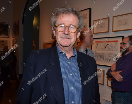 Private Eye: the First 50 Years - Private View at the Victoria & Albert Museum Cromwell Road London Professor Sir Christopher Frayling