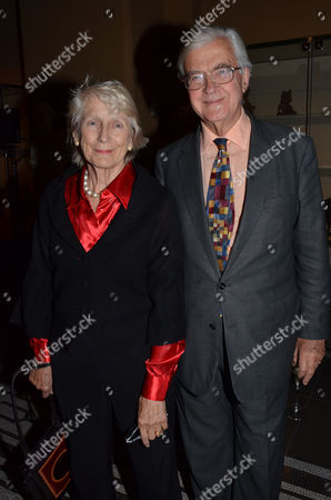 Private Eye: the First 50 Years - Private View at the Victoria & Albert Museum Cromwell Road London Lord & Lady Kenneth Baker