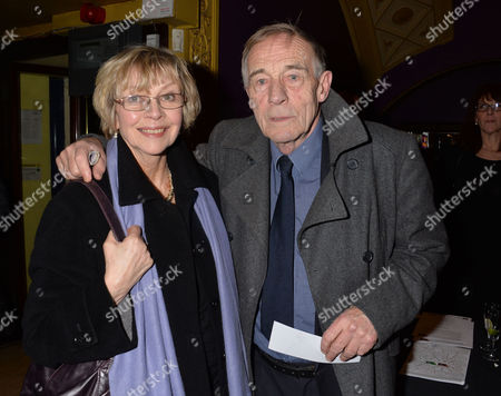 Stock Picture of A Screening of A Film of the West End Production of Private Lives at the Gielgud Theatre at the Cineworld Haymarket London Michael Jayston