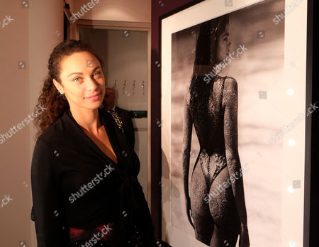 Private View of Girls Girls Girls at the Little Black Gallery Park Walk Fulham London Lily Becker