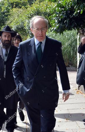 Rabbi Ephraim Mirvis Being Installed As Uk Chief Rabbi at St John's Wood Synagogue Gerald Kaufman Mp