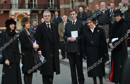 Requiem Mass For William the Lord Rees-mogg at Westminster Cathedral Charlotte Rees-mogg Thomas Rees-mogg Emma Graigie Jacob Rees-mogg Mp Lady Gillian Rees-mogg Annunziata Glanville
