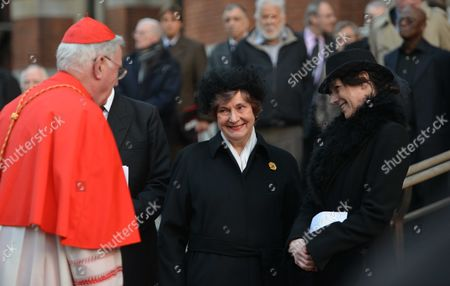 Requiem Mass For William the Lord Rees-mogg at Westminster Cathedral Lady Gillian Rees-mogg