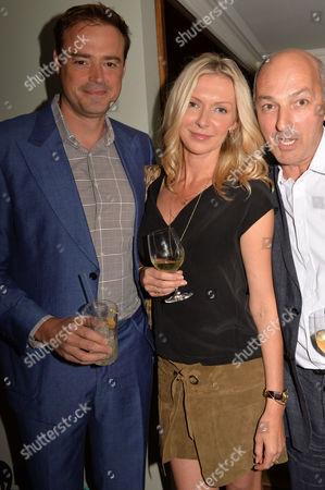 Editorial photo of Restaurant Babylon Book Launch