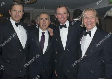 Stock Photo of Retail Trust London Ball the Ballroom Grosvenor House Park Lane London A Annual Event in Aid of the Charity For Those Working in Or Retired From the Retail Business Marc Bolland Patrick Bousquet-chavanne Corporate Director Strategy Implementation and New Business Development and Alan Stewart Chief Finance Officer & Steven Sharp All From Marks and Spencer