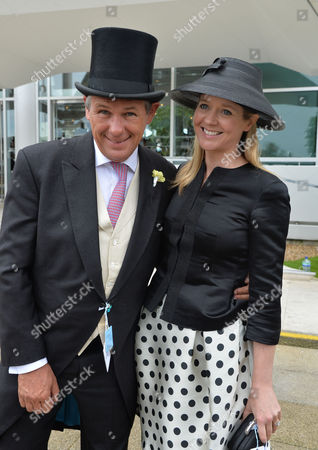 Scenes at the Investec Derby On Epsom Downs Kate Reardon with Her Husband Charles Gordon-watson