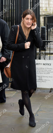 Scenes in Whitehall Politicians and Downing Street Staff Walked to the Palace of Westminster For Pmq's Gabby Bertin