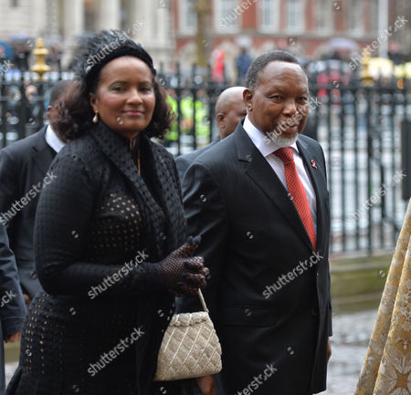 Prince Harry Will Represent the Queen at A National Service of Thanksgiving to Celebrate the Life of Nelson Mandela Former President of the Republic of South Africa at Westminster Abbey Westminster London Deputy President of South Africa Kgalema Motlanthe