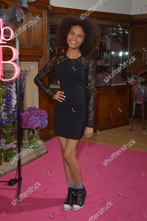 London, England, 29th June 2016: Indeyarna Donaldson-holness Attends the 'absolutely Fabulous' Premiere Afterparty at Liberty's On the 29th June 2016