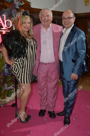 London, England, 29th June 2016: Christopher Biggins, Neil Sinclair Attends the 'Absolutely Fabulous' Premiere Afterparty at Liberty's On the 29th June 2016