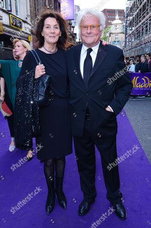 London, England, 15th June 2016: Sir Richard Eyre, Sue Birtwistle Attend Aladdin Press Night at the Prince Edward Theatre 15th June 2016