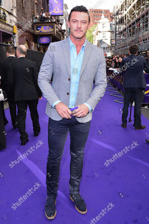 London, England, 15th June 2016: Luke Evans Attend Aladdin Press Night at the Prince Edward Theatre 15th June 2016