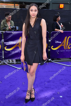 London, England, 15th June 2016: Jade Alleyne Attend Aladdin Press Night at the Prince Edward Theatre 15th June 2016