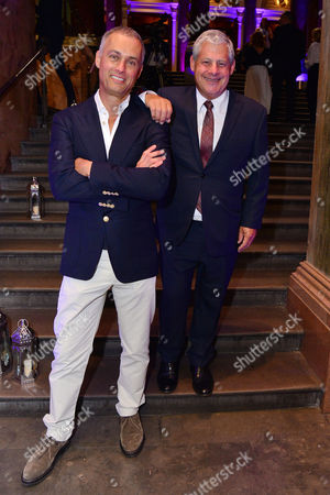 London, England, 15th June 2016: Cameron Mackintosh and Michael Le Poer Trench Attend Aladdin Press Night Afterparty at the National Gallery, 15th June 2016