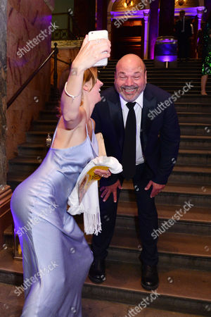 London, England, 15th June 2016: Summer Strallen with Director Casey Nicholaw Attend Aladdin Press Night Afterparty at the National Gallery, 15th June 2016