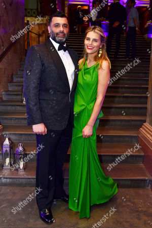 Stock Image of London, England, 15th June 2016: Irvine Iqbal Attends Aladdin Press Night Afterparty at the National Gallery, 15th June 2016