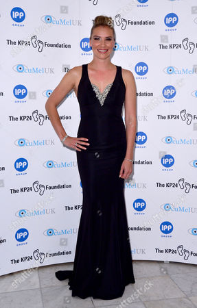 London, England, 9th June 2016: Jessica Taylor Attend the Kp24 Foundation Charity Gala Dinner Arrivals at the Waldof Astoria, London On the 9th June 2016.