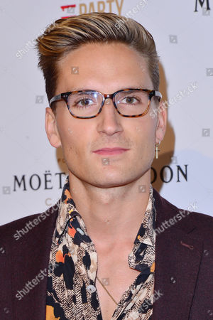 Stock Picture of London, England, 11th June 2016: Oliver Proudlock Attends Moet & Chandon Now Or Neverland Party at Victoria House, Bloomsbury, London On the 11th June 2016.