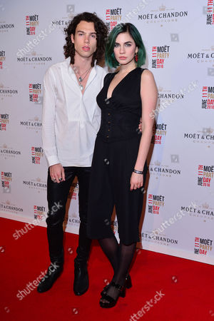 London, England, 11th June 2016: Todd Dorigo, Nikita Andrianova Attends Moet & Chandon Now Or Neverland Party at Victoria House, Bloomsbury, London On the 11th June 2016.
