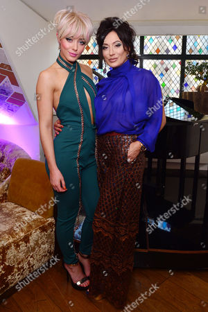 London, England, 20th July 2016 Hatty Keane, Nancy Dell?olio Attends the Official Launch of Limonbello by Nancy Dell?olio at the Club at the Ivy, London On the 20th July 2016