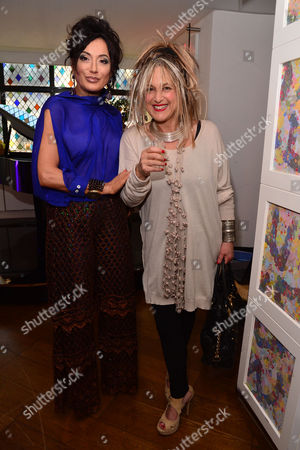 London, England, 20th July 2016 Nancy Dell?olio, Elizabeth Emanuel Attends the Official Launch of Limonbello by Nancy Dell?olio at the Club at the Ivy, London On the 20th July 2016
