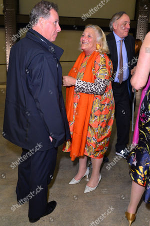 Stock Photo of London, England, 16th June 2016: Lord David Linley and Dame Vivien Duffield at the Tate Modern Opening Party , London On the 16th June 2016.