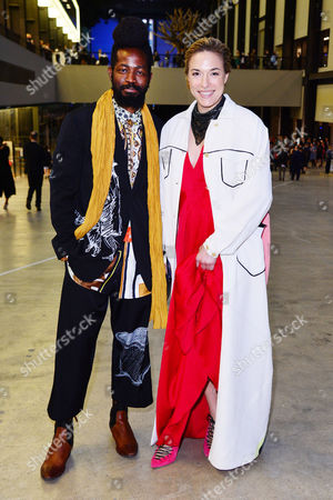 London, England, 16th June 2016: Ma Malone, Roy Luwolt at the Tate Modern Opening Party , London On the 16th June 2016.