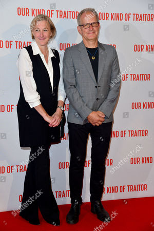 London Uk 5th May 2016: Producers Gail Egan and Stephen Cornwell Attend the Uk Gala Screening of 'our Kind of Traitor', at the Curzon Mayfair in London, England. 5th May 2016.